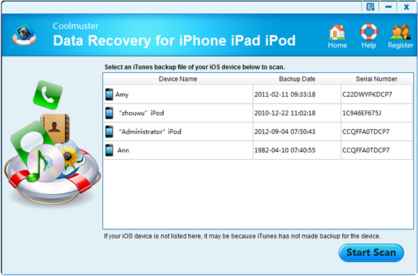 How To Recover Data From iPhone, iPad and iPod