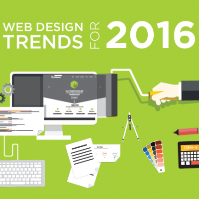 Web Designing Trends For 2016