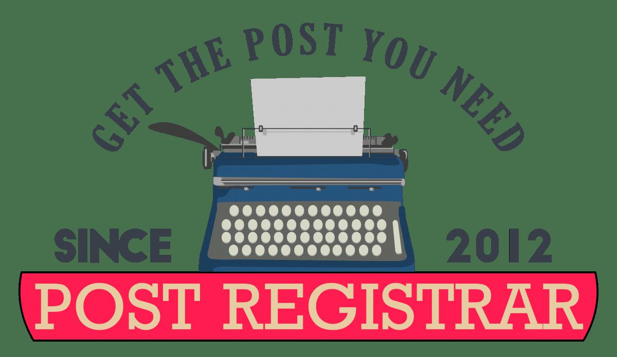 Post Registrar